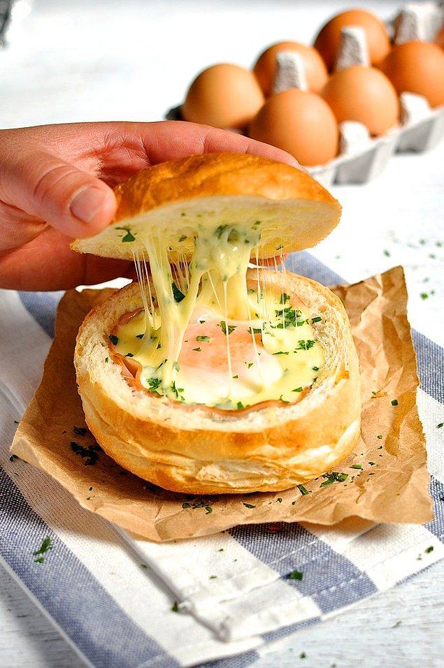 9. Ekmek mi yumurtaya banmalı yumurta mı ekmeğe banmalı.
