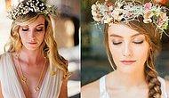 Gelinlerin Başlarında da, Ruhlarında da Çiçekler Açtıracak 31 Taç Modeli