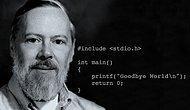 Bilgisayar yazılımının isaac newton'ı Dennis Ritchie