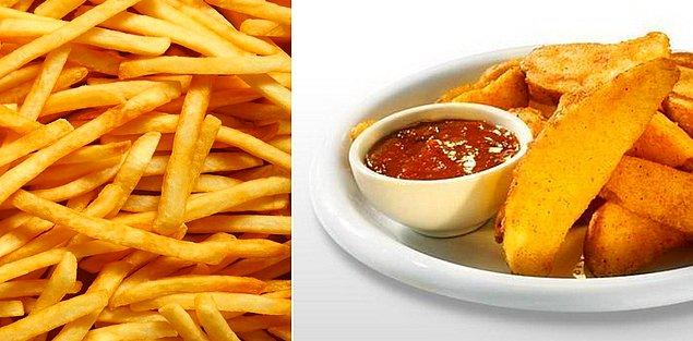 3. Elma Dilim Patatesçiler - Parmak Patatesçiler