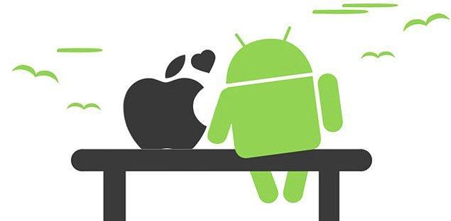 6. İosçular - Androidciler