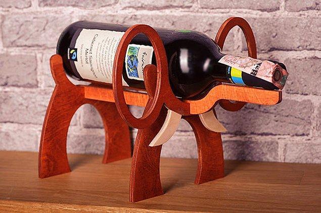 7. Şarap tutacağı