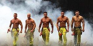 Yangın Var! Avustralyalı İtfaiyecilerden 2017 Takviminin İlk Görüntüleri Geldi