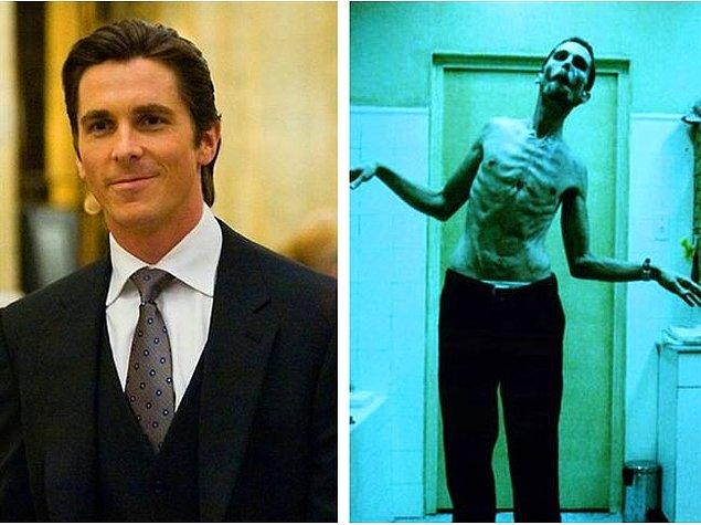 1. Christian Bale - Makinist