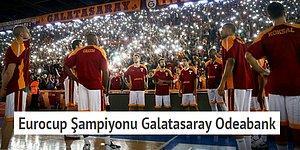 Teker Teker Geçtik Turları, Avrupa'da Aldık Kupayı! Eurocup Şampiyonu Galatasaray Odeabank