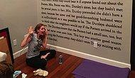 Salon Duvarını Harry Potter'ın Satırlarıyla Süsleyen Kadın Herkese İlham Veriyor!