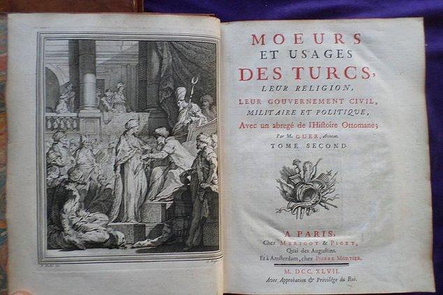 """Jean Antoine Guer'in Paris'te yayımlanan """"Türkler'in Gelenek ve Alışkanlıkları"""" isimli eserinde, oyundan Mangola olarak bahsedilmektedir."""