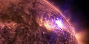 NASA'dan 4K Kalitesinde Güneş Patlaması Görüntüleri