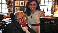 Milli Gururumuz Canan Dağdeviren, Stephen Hawking'i Harvard'da Misafir Etti!