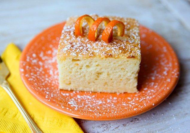 12. Keki portakallı ve yumuşacık yapmak herkese nasip olmaz!