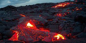 Lav Akıntılarının Tüyler Ürpertici Gücünü Gözler Önüne Seren Muhteşem Görseller