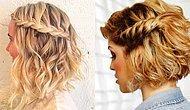 Kısa Saçlı Kadınların Örgü Hasretini Giderecek 23 Mükemmel Kısa Saç Örgü Modeli