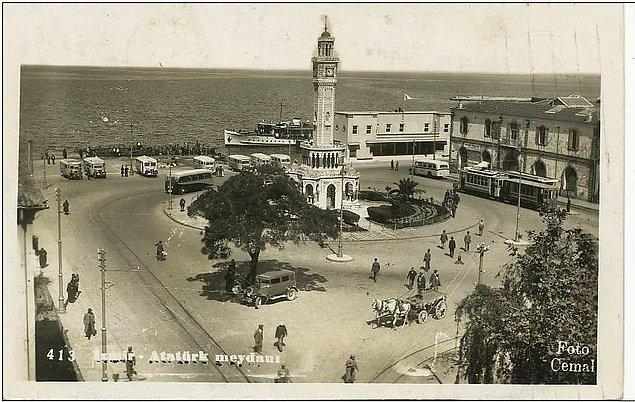 13. İzmir 1945'e kadar Türkiye'nin ikinci büyük şehriydi.