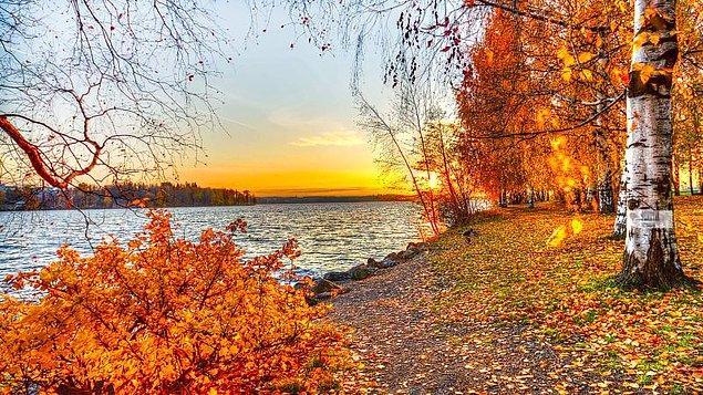 5. Hafif esintileriyle sonbahar sakinliği