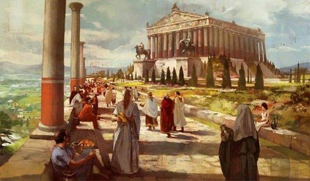 14. Dünyanın yedi harikasından biri olan Artemis Tapınağı da İzmir'deydi.