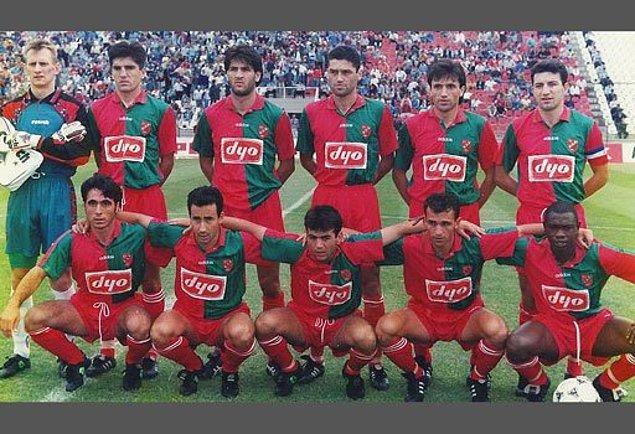 Karşıyaka en son 1996 yılında Süper Lig'de mücadele etmişti.