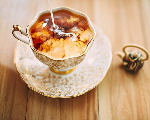 15. Sütlü Çay