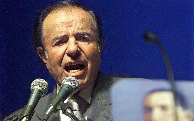 """Arjantin'in eski devlet yöneticisi Carlos Menem'in lakabının """"El Turko"""" olması tesadüf değil"""