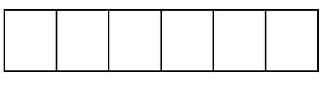 Öncelikle boş tablomuzu şu şekliyle bir görelim: