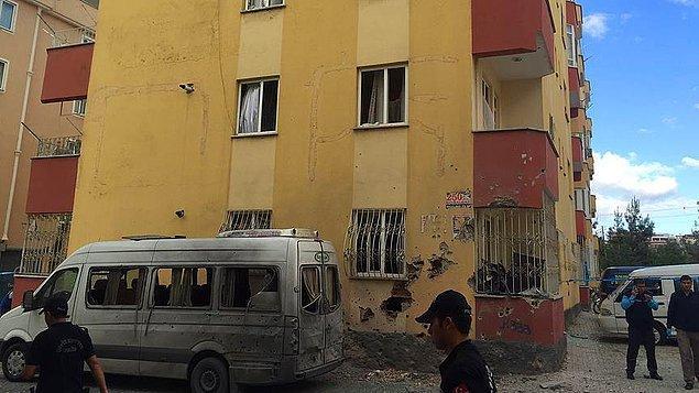2'si polis 3 kişi yaralandı