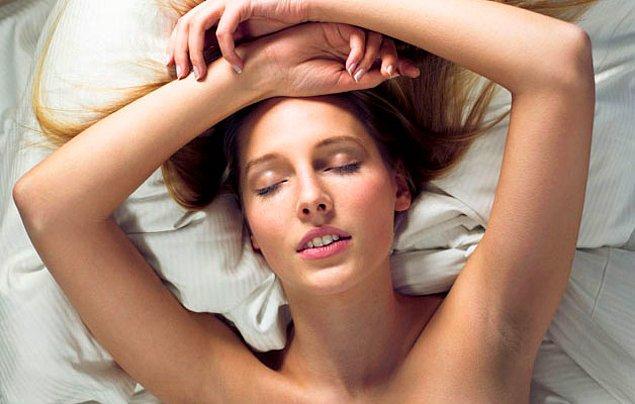 2. Kadın orgazmını hızlandırıyor.