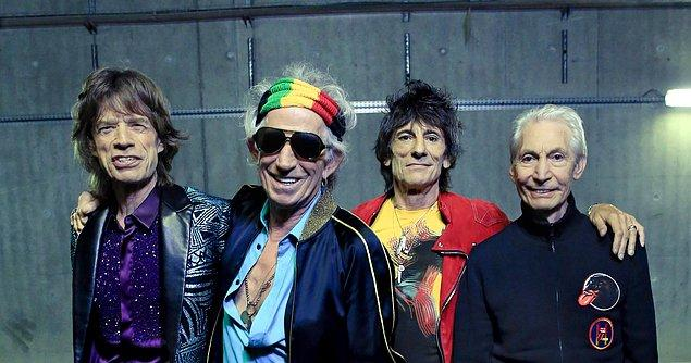 3. The Rolling Stones - 39.6 Milyon Dolar