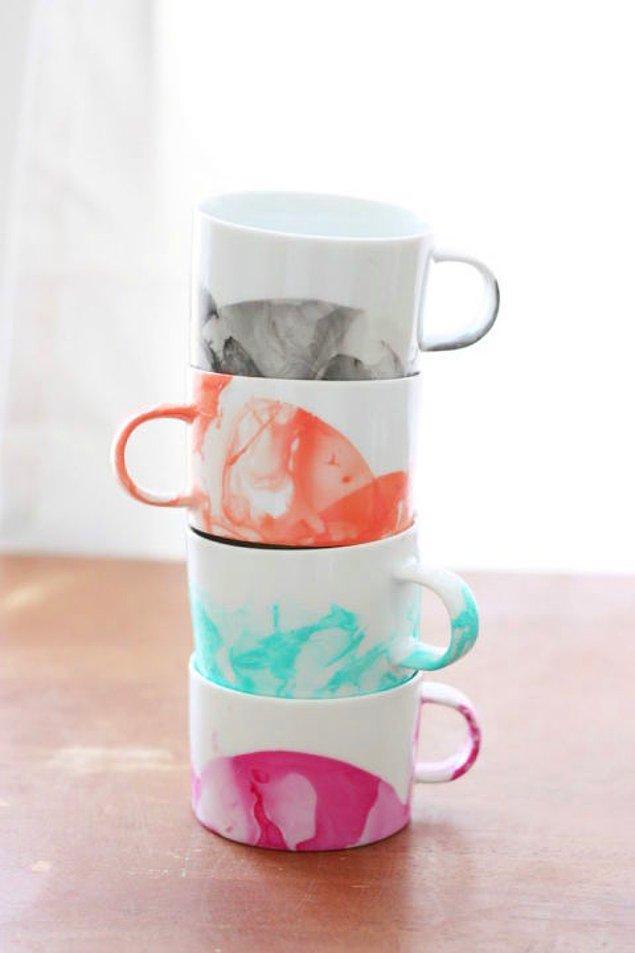 2. Her sabah çayını yudumlayan anneniz emin olun sizin elinizden içmek isterdi...