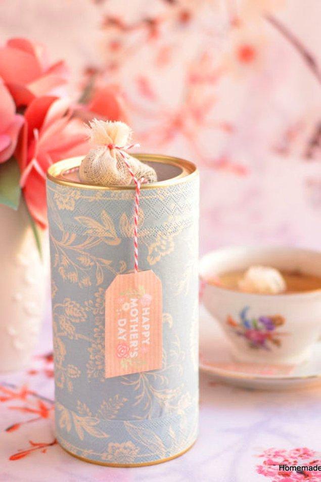 3. Çay bir annenin en yakın arkadaşıdır!