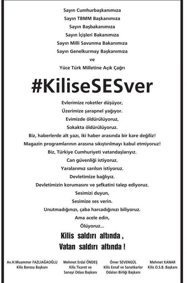 #KiliseSESver