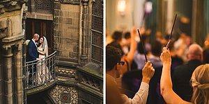 Harry Potter Hayranları Buraya! Sihirli Dokunuşlarla Dolu Bu Harry Potter Temalı Düğün Tam Size Göre
