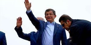 Davutoğlu'ndan Memleketi Konya'da Çok Kısa Konuşma
