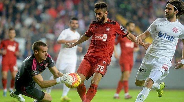 Gaziantepspor (33): Çaykur Rizespor (D), Antalyaspor