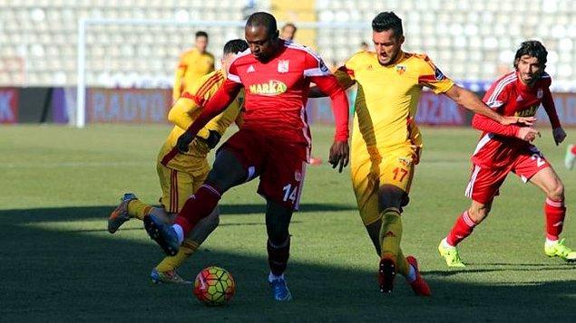 Kayserispor (33): Medicana Sivasspor, Galatasaray (D)