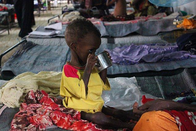 Kampta yaşayan mültecilerin çoğu çocuklardan ve kadınlardan oluşuyor