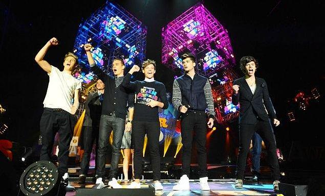 5. One Direction - 24.2 Milyon Dolar