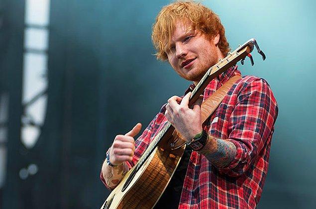 17. Ed Sheeran - 11.6 Milyon Dolar