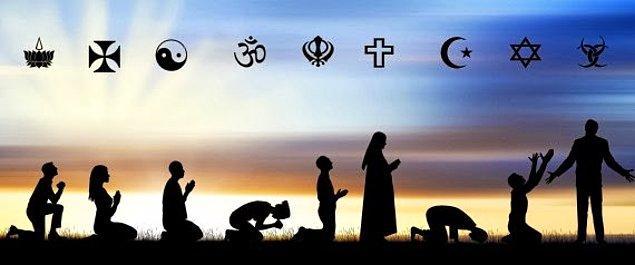 1. Dünyanın en popüler dinlerinden olan Hristiyanlık, İslam, Hinduizm ve Budizm gibi dinlerin tamamının kökü Asya'da bulunmaktadır.