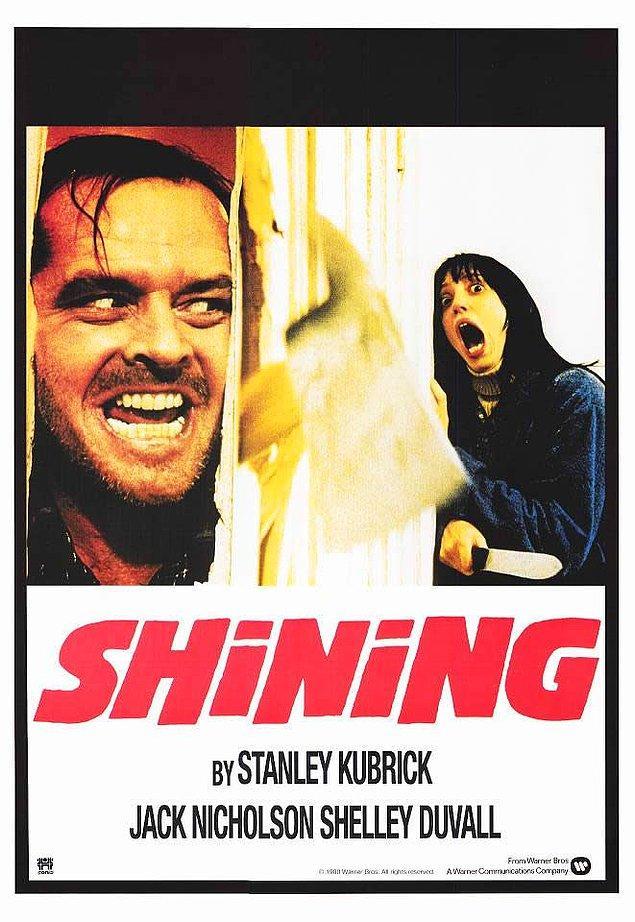 """1. Cinnet / The Shining (1980) - """"Ay öldüresi var beni!"""""""
