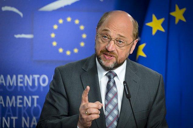 AP Başkanı Schulz: 72 kriter tamamlanmadan gündeme alınmayacak