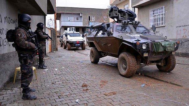 1. Şırnak'ta Çatışma: 1 Polis Şehit