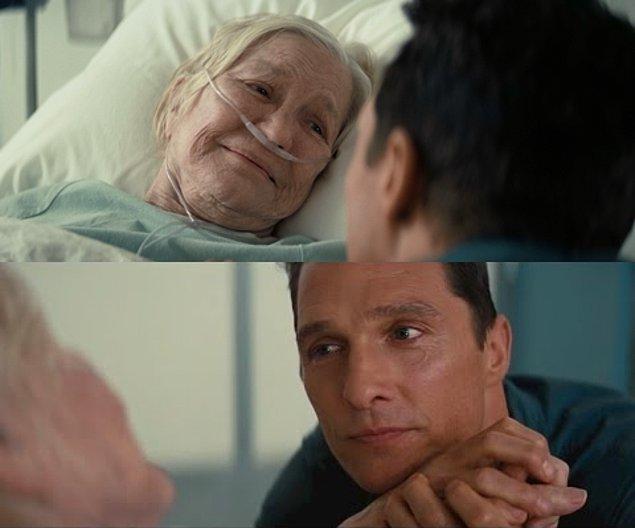 """6. Interstellar (2014) - """"Annesinden 1 yaş büyük olan adam"""""""