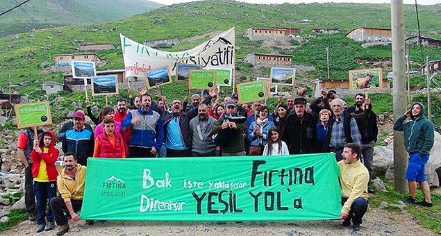 Yeşil Yol'a karşı çıkanlar maden sahalarına ulaşım sağlamayı amaçladığını savunuyorlardı