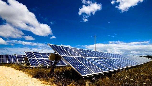 5- Tarım arazileri üzerine kurulan güneş enerjisi santralleri.