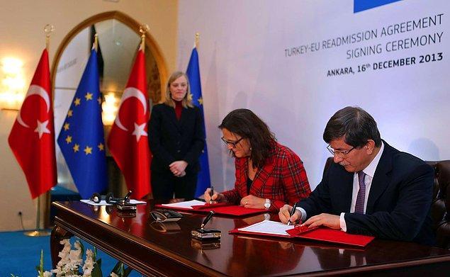 Türkiye-AB vize diyaloğu 2013'te imzalanan anlaşmayla başladı