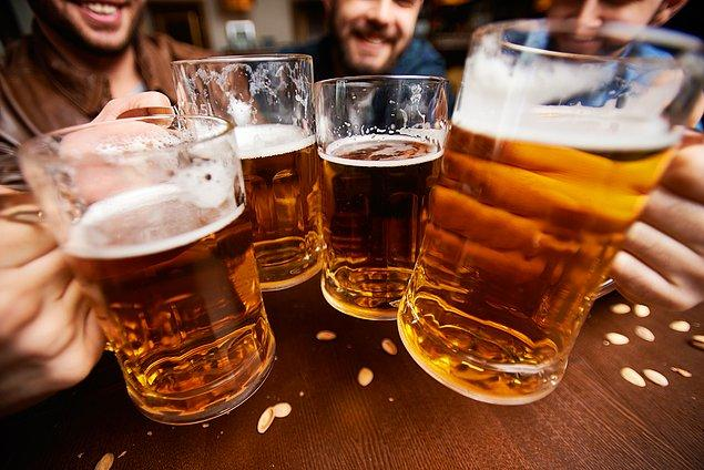 'Bira içmemeleri tavsiyesinde bulunmak için herhangi bir gerekçe yok'