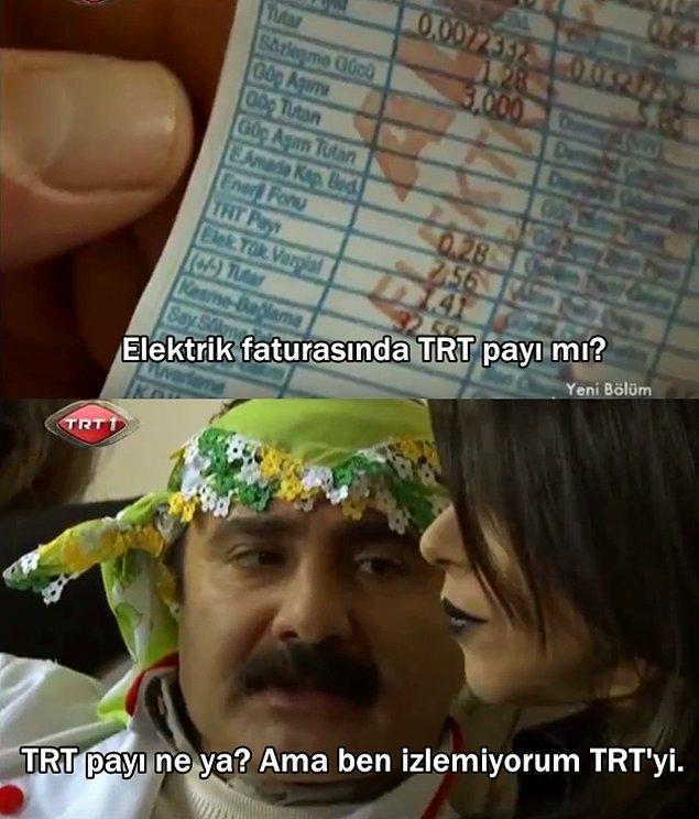 2. Leyla ile Mecnun'dan: TRT'de TRT'yi eleştirebilmek.