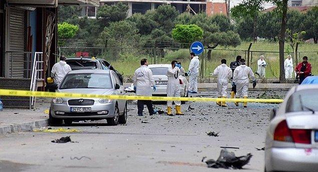 1. İstanbul'da Askeri Servis Aracına Bombalı Saldırı