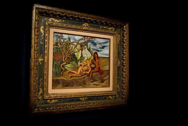 Kahlo, yakın arkadaşı film yıldızı Dolores del Rio'ya armağan etmişti