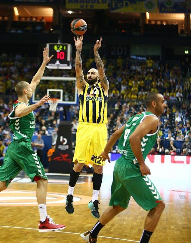 İlk Çeyrek Sonucu | Fenerbahçe 23-15 Laboral Kutxa