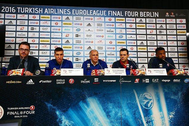 Itoudis: 'Final için çok heyecanlıyız'